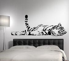 Wandtattoo Wandsticker Wandaufkleber Wohnzimmer Tiger liegend Asien XXL W910