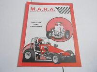 #MISC-2680 CAR RACING PROGRAM - 1985 MIDWEST AUTO RACINT ASSOCIATION MARA