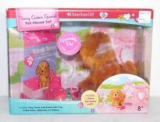 New Nib American Girl Fancy Cocker Spaniel Pet House Set Craft Book Stickers Etc