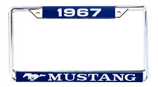 NEW! 1967 Ford Mustang License Plate Frame Chrome Price is Each