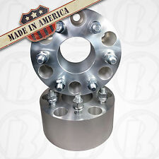 """Hummer H3 6x5.5 Wheel Adapter 3"""" Spacer 12x1.5 Studs Made in USA"""