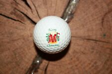 MINT VINTAGE PING EYE 2 RED AND WHITE CHRISTMAS GOLF BALL