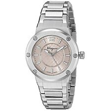 Ferragamo FIG030015 Women's F-80 Pink Quartz Watch