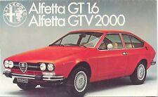 Alfa Romeo Alfetta Gt, Gtv & Sedan Dvd Manual, Manuals