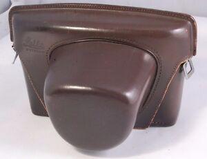 Leica Camera Case Genuine, Leather Brown - vintage 5104032 R or M