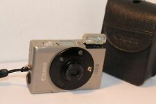 GEORGEOUS LITTLE CANON IXUS , METAL BODY 24-48mm ZOOM . in FULL WORKING ORDER