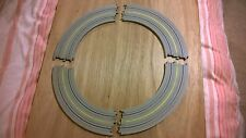 4 Tyco US1 Roadway 3075  HO OO Slot car Faller Tyco  AFX rare US yellow markings