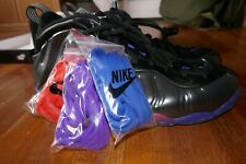 "NEW MENS 15 Nike Air Foamposite PENNY One QS ""Black/Royal/Orange"" Shoe Sneakers"