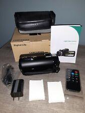Digital Life HD 1080P 16X Digital Zoom Camcorder 24MP, 1920x1080P HD - USED
