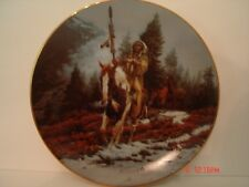 Windrider from the Mystic Warriors plate collection by Chuck Ren