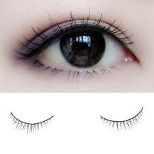 Pro 10 Pairs Short Sparse Makeup Handmade Natural False Eyelashes Eye Lashes Set