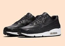 Nike Air Max 90 Tissé Noir Rare Taille 8 ONLY!!!