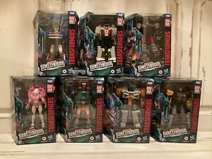 Transformers War For Cybertron EARTHRISE LOT OF 7 SEALED FIGURES BLUESTREAK