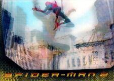 2004 SPIDER-MAN MOVIE 2 LENTICULAR CHASE CARD SET L1,L2,L3