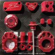 Zeta Racing MX Motocross Billet Bike Kit - Honda CRF450 R/X 17-18 - Red