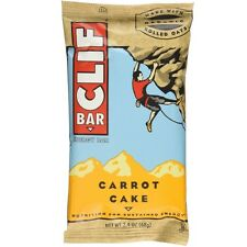 Clif Bar, 2.4 oz bars, Carrot Cake 12 bars (Pack of 2)