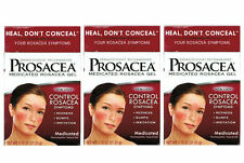 3 PACK Prosacea Medicated Rosacea Topical Gel 0.75oz 072959080211DT
