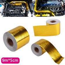 9Mx5CM Gold Roll Adhesive Reflective High Temperature Heat Shield Wrap Tape