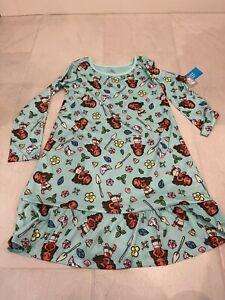 NWT Disney Moana Girls Nightgown SZ 7/8