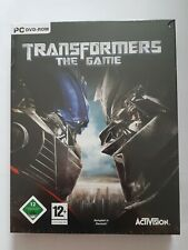 Transformers The Game PC DVD Box