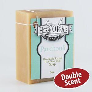 Patchouli 2x Goat Milk Soap