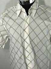 Mondo Di Marco Checkered Shirt - Size XL/TG - 100% Cotton
