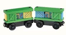 THOMAS THE TANK & FRIENDS - WOODEN BOX CARS BOXCARS LEARNING CURVE 2000 **NEW**