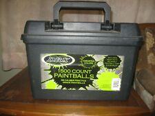 43 t4e glasbreaker Paintball 20 pièces RAM Airsoft 10,850 mm NEUF Acier Boules cal