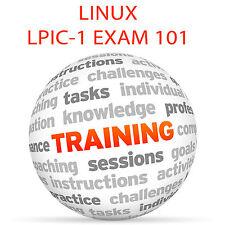 LINUX PROFESSIONAL INSTITUTE CERTIFICATION EXAM 101 Video Training Tutorial DVD