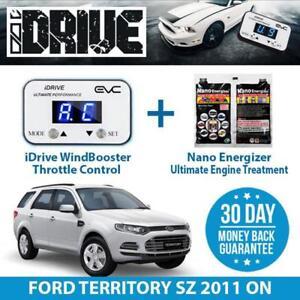IDRIVE THROTTLE CONTROL FOR FORD TERRITORY SZ 2011 ON + NANO ENERGIZER AIO