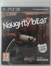 Naughty Bear. Ps3. Fisico. Pal Es