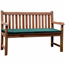 KYOTO SOLID CHUNKY INDONESIAN 2 SEAT TEAK WOOD GARDEN PARK BENCH CLICK + COLLECT