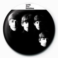 BEATLES with the beatles BUTTON BADGE official merchandise - lennon & mccartney