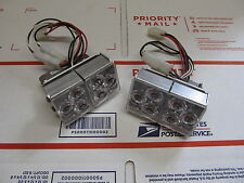Whelen Freedom 9M Ultra Alley Light Super LED Set LR-11 LR11 01-026B047-31B RARE