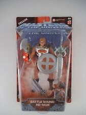 Masters Of the Universe MOTU Battle Sound He-Man b3229 in scatola originale (784)