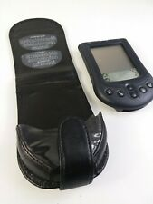 Palm Pilot M105 With Stylus -PDA Vintage Electronic Organizer w Leather Case