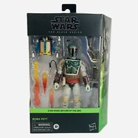 "Star Wars Black Series Deluxe Boba Fett 6"" Inch Return Of The Jedi Hasbro Figure"