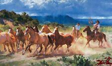 Before The Storm by Jason Rich Cowboys Wild Horses SN LE Western Fine Art Print