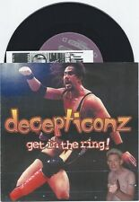 """Decepticonz """"Get In The Ring"""" 7"""" Less Than Jake Reel Big Fish The Hippos"""
