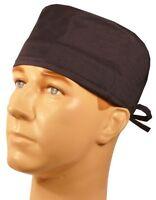 Navy Blue & Sweatband Scrub Cap Medical Surgical Doctor Dental Veternarian