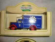 DAYS GONE BY LLEDO-PROMOTIONAL MODEL-BEDFORD VAN-COTSWOLD BEERS-BLUE-LOOK!!