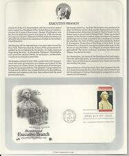 # 2414 EXECUTIVE BRANCH CONSTITUTION SERIES 1989 Artcraft First Day Cover
