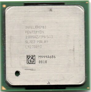 INTEL Pentium 4 2800Mhz, 1Mb, bus 533,  socket 478