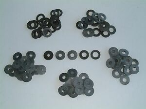 M5/M6/M8/M10 and M12 Neoprene Rubber Washers, Various quantities available