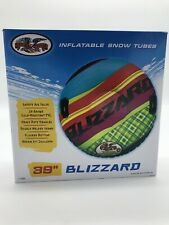 Flexible Flyer I39 Blizzard Inflatable PVC Snow Tube 39 in.