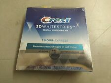 CREST 3D WHITESTRIPS 1 HOUR EXPRESS 14 STRIPS 7 TREATMENTS EXP 03-2022