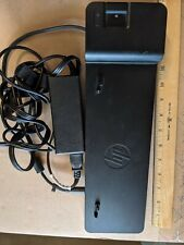 New listing Hp 2013 Ultra Slim Docking Station, E6B88Aa with Ac Adapter