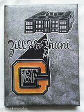 1951 GALLUP HIGH SCHOOL YEARBOOK, GALLUP, NEW MEXICO  ZILL HO ZHUNI