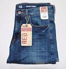 New Wrangler RED W1947 Straight Leg Jeans Men's Sizes Free Shipping