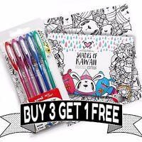 Uni-Ball Signo Metallic Glitter Pens - Miss Wah Shades of Kawaii Book - UM-120NM